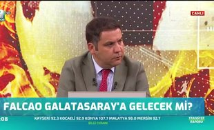 """Galatasaray isterse Falcao'yu alır"""