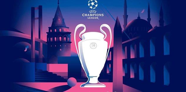 Şampiyonlar Ligi'nin İstanbul logosu belli oldu!