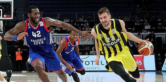 Fenerbahçe Doğuş - Anadolu Efes maçının galibi...