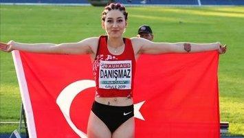 Milli atlet Türkiye rekoru derecesini yükseltti!