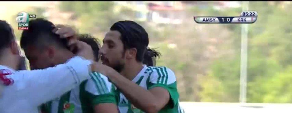 Y. Amasyaspor 2-0 Kırıkkale BAS 86' Hakan Doğan