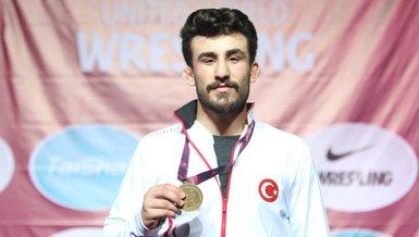 23 Yaş Altı Avrupa Güreş Şampiyonası'nda Erhan Yaylacı'dan altın madalya!