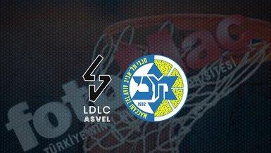LDLC Asvel - Maccabi Tel-Aviv maçı ne zaman, saat kaçta? Hangi kanalda canlı yayınlanacak?   THY Euroleague