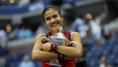 ABD Açık'ta tek kadınlar şampiyonu Emma Raducanu tarihe geçti!