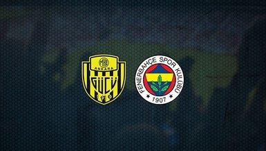 Hedef 3 puan! Ankaragücü - Fenerbahçe maçı ne zaman, saat kaçta ve hangi kanalda canlı yayınlanacak?   Süper Lig