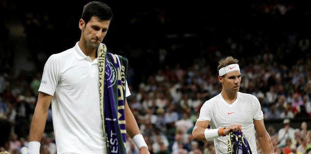 Wimbledon'da Djokovic-Nadal maçı ertelendi
