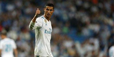 Cristiano Ronaldo yine boş geçmedi