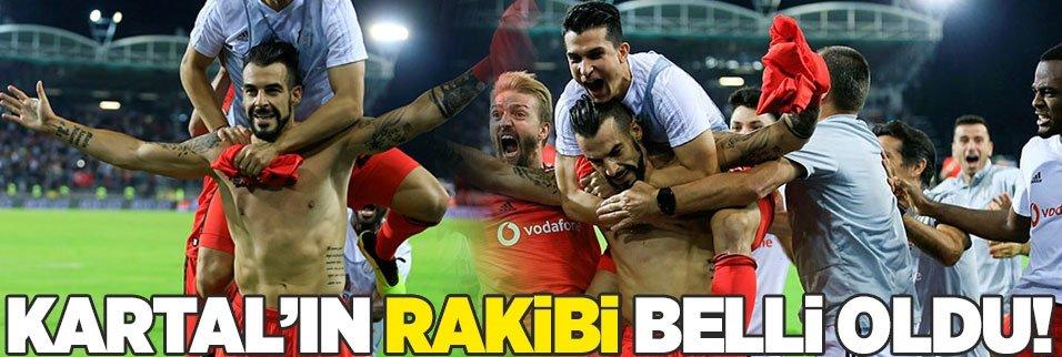 Beşiktaş'ın Avrupa Ligi'ndeki rakibi belli oldu!