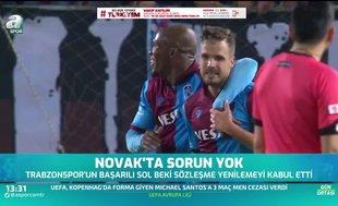 Trabzonsporlu Filip Novak'tan örnek hareket!