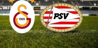 Galatasaray-PSV maçı hangi kanalda, saat kaçta?