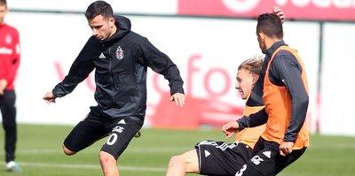 Beşiktaş'ta Trabzon mesaisi başladı