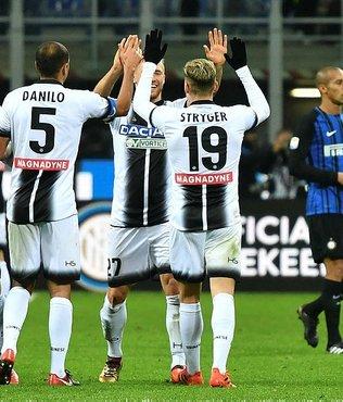 Lider Inter, yenilgiyle tanıştı