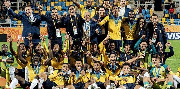 Ekvador dünya üçüncüsü oldu