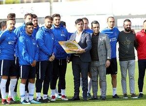 Trabzonspor Gençlerbirliği hazırlıklarını sürdürdü