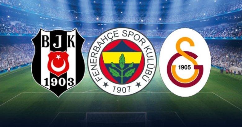 Dev liste açıklandı! Beşiktaş, Fenerbahçe ve Galatasaray da yer aldı