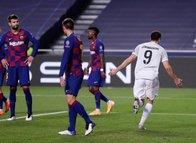 Bayern Münih 'Barça'ladı Messi yıkıldı! İşte o anlar...