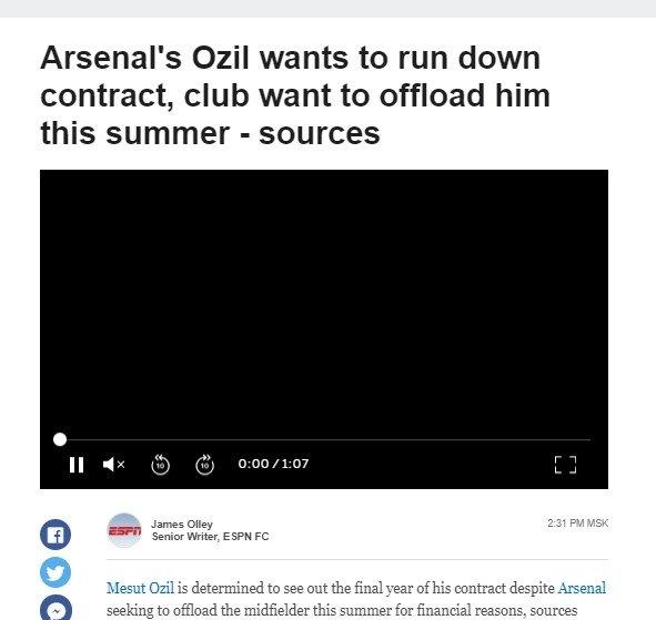 arsenalden fenerbahceyi sevindirecek karar mesut ozil 1592576704259 - Arsenal'den Fenerbahçe'yi sevindirecek karar! Mesut Özil...