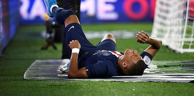 PSG'de Mbappe 4 Cavani 3 hafta yok