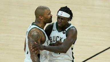 Son dakika spor haberi: Phoenix Suns-Milwaukee Bucks: 119-123   MAÇ SONUCU