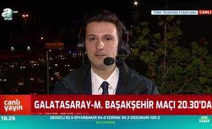 Galatasaray - Başakşehir maçında Diagne detayı