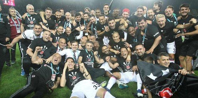 TFF, Beşiktaş'ı kutladı