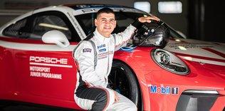 Ayhancan Güven 'Porsche'nin 2020 genç sürücüsü' seçildi