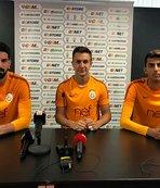 Galatasaray'ın genç kalecileri kampta konuştu