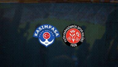 Kasımpaşa - Fatih Karagümrük maçı ne zaman, saat kaçta ve hangi kanalda canlı yayınlanacak?   Süper Lig