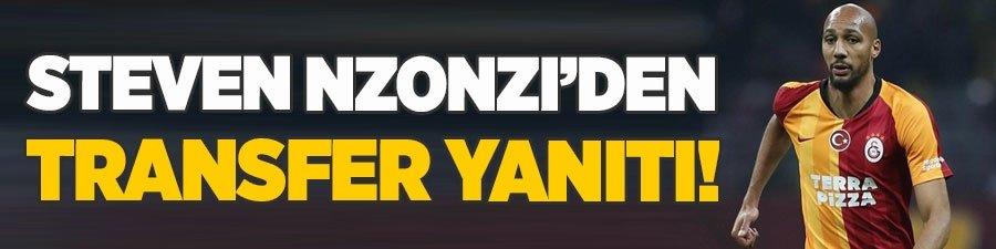 Steven Nzonzi'den transfer yanıtı!