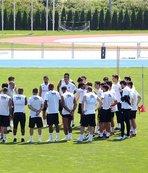 Beşiktaş, Slovakya'daki hazırlıklarına devam ediyor