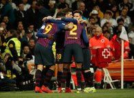 Real Madrid - Barcelona maçından kareler