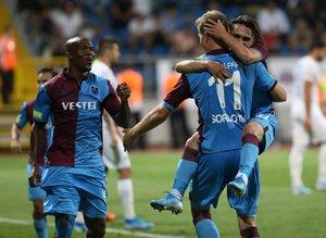 Kasımpaşa - Trabzonspor maçından kareler...