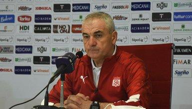 Sivasspor Teknik Direktörü Rıza Çalımbay: Yukarıdakileri yakalamak istiyoruz