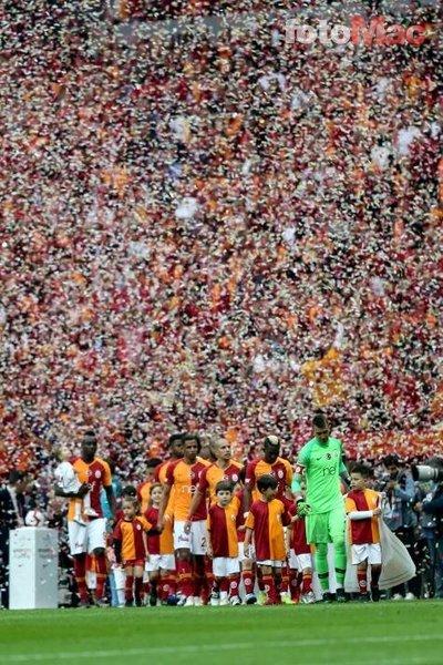 Galatasaray taraftarından Medipol Başakşehir maçına büyük hazırlık!