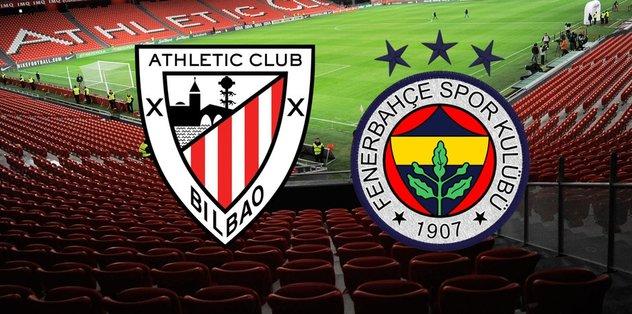 İlk maç Bilbao ile