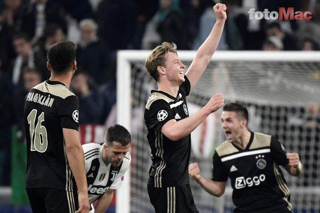 Juventus 1-2 Ajax (Maçtan kareler / 17 Nisan)