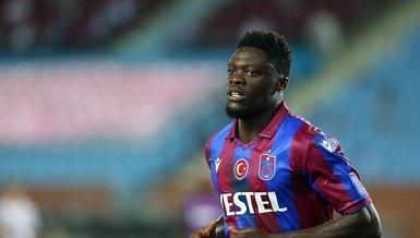 Son dakika: Trabzonspor'a Ekuban'dan kötü haber