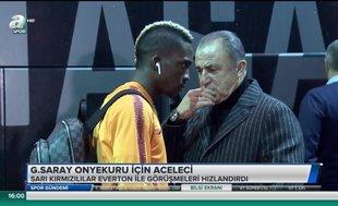 Galatasaray Onyekuru için aceleci