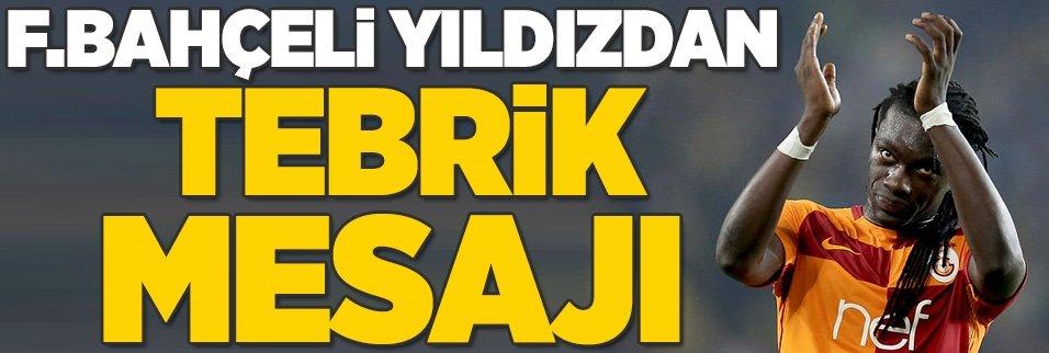 Fenerbahçeli yıldızdan Gomis'e tebrik mesajı