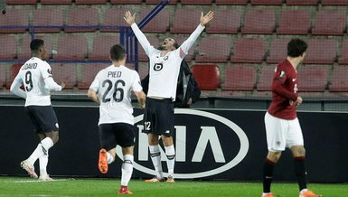Sparta Prag 1-4 Lille | Yusuf Yazıcı'dan hat-trick şov | MAÇ SONUCU