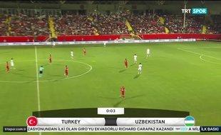 Türkiye 2-0 Özbekistan (MAÇ ÖZETİ)