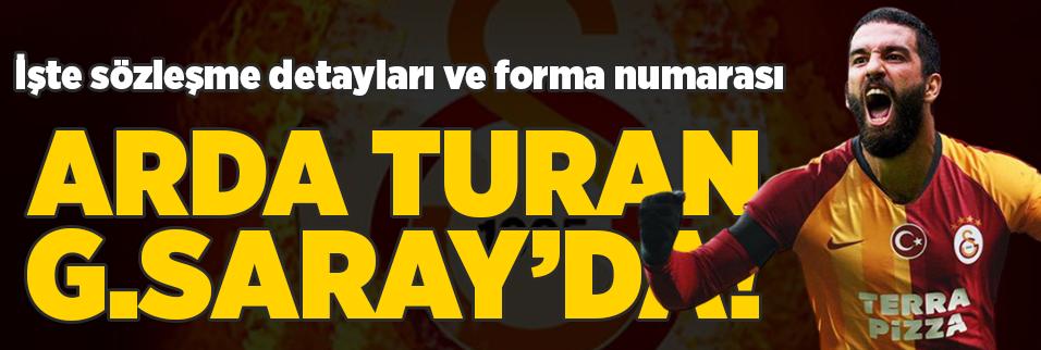 son dakika galatasaray arda turan ile anlasmaya vardi 1596630983329 - Galatasaray'dan harcama llimiti açıklaması!