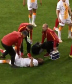 Galatasaray'da şok sakatlık! | İşte o pozisyon...