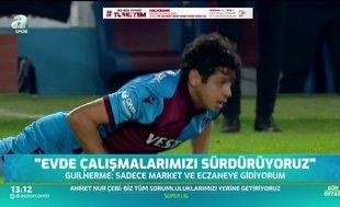 Guilherme: Ligin en güçlü takımı Trabzonspor