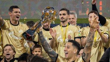 Son dakika spor haberi: Rusya'da şampiyon Zenit St. Petersburg oldu