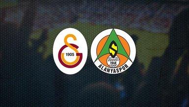 Galatasaray Alanyaspor maçı ne zaman? Saat kaçta ve hangi kanalda CANLI yayınlanacak? Muhtemel 11'ler ve daha fazlası...