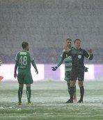 Bursaspor'dan tatil edilen maç ile ilgili açıklama