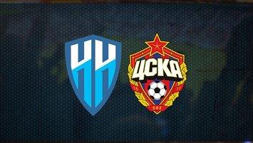 Nijni Novgorod FK - CSKA Moskova maçı ne zaman, saat kaçta?