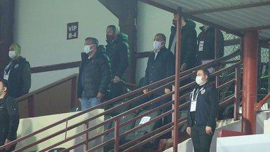 Son dakika spor haberleri: Fatih Terim Hatayspor Galatasaray maçını tribünden takip etti