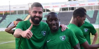 Denizlispor'da Sankoh'un sözleşmesi feshedildi